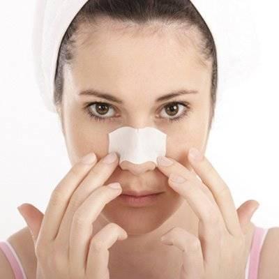 Tratamento caseiro para remover cravos do nariz