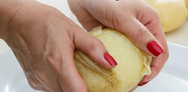 Como Descascar Batatas em Segundos