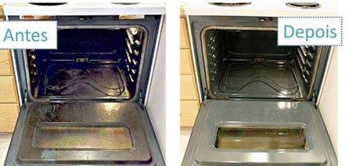 Dicas de limpeza para forno e geladeira