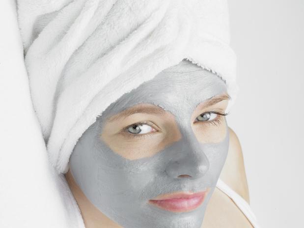 Máscara de prata hidratação profunda do rosto