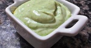 Molho maionese verde