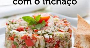 Salada ajuda a acabar com o inchaço