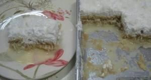 Torta de coco afogada