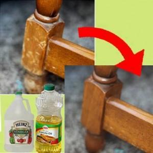 Veja como melhorar a aparência da madeira desgastada