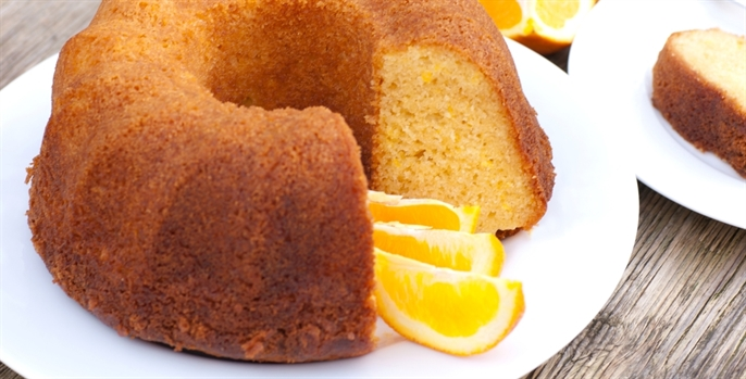 bolo de laranja delícia cremoso