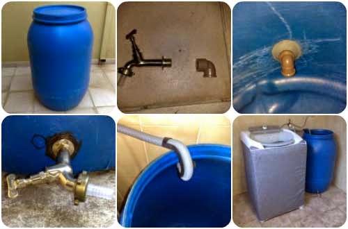 Dicas para reaproveitar a água da máquina de lavar roupas