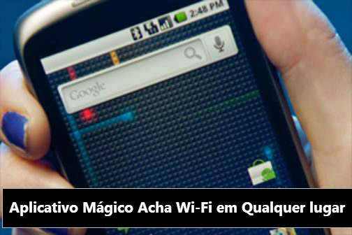 WADA: Mantenha-se conectado através de redes Wi-Fi livres