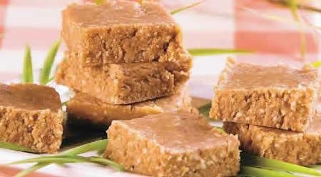 Paçoca de biscoito maisena