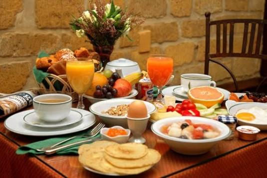 Café da manhã para perder peso em um mês