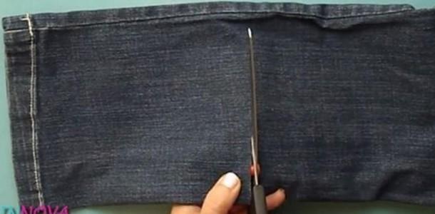 Par de calças velhas. O Que Fazer?