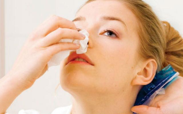 O que fazer quando seu nariz sangra?