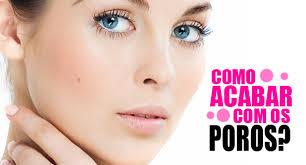 como acabar com poros dilatados