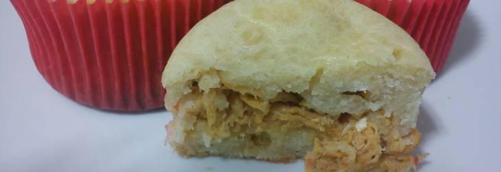 Cupcake Tortinha de frango
