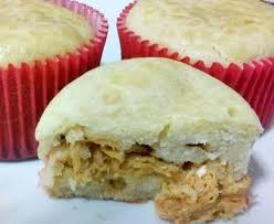 cup cake torta de frango