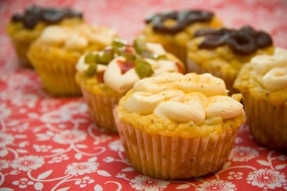 Cupcakes salgados