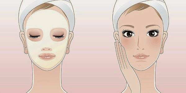 Máscaras Caseiras para pele