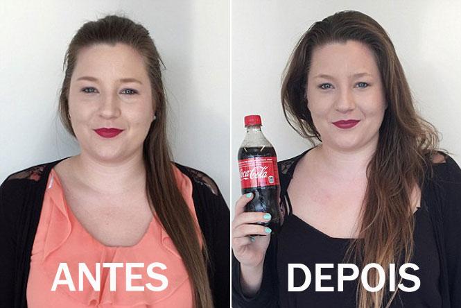 Se você quer aumentar o volume de seu cabelo, lave-o com Coca-Cola!
