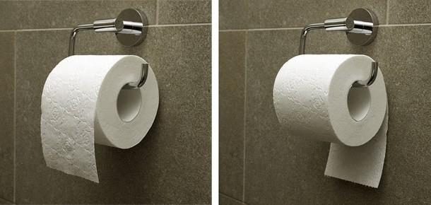 Curiosidade: Papel higiênico – Modo de Uso