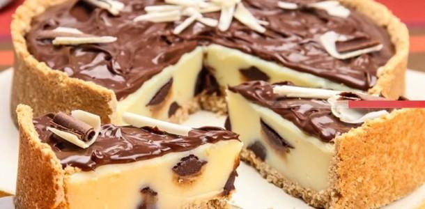 Receita Torta Trufada Leite Ninho