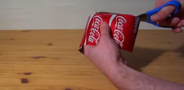Curiosidade: Lata de Coca-Cola