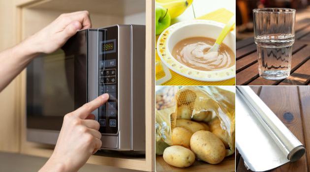 9 coisas que nunca devem ir ao microondas, mas que você já deve ter levado