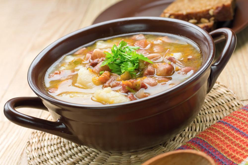 Sopa fácil de Feijão Branco