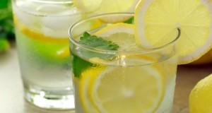 agua com limão
