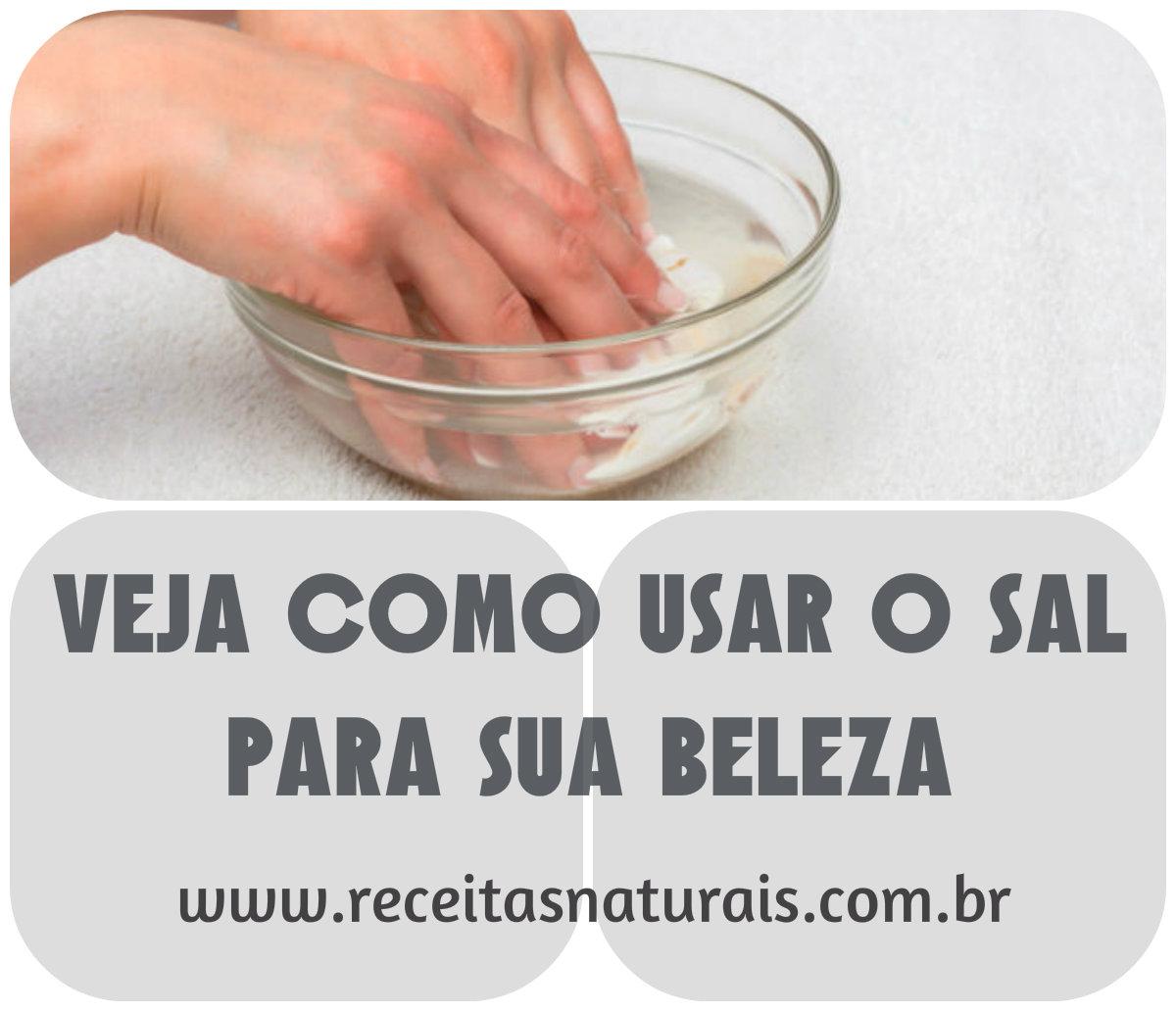 6 dicas incríveis do sal para eliminar caspa, ter unhas fortes