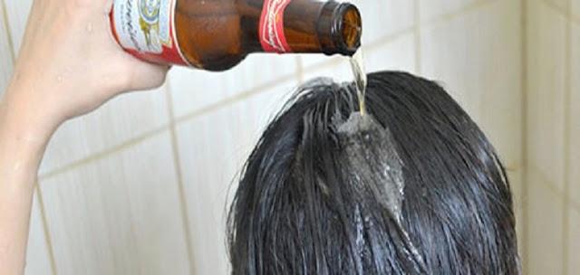cabelo - cerveja