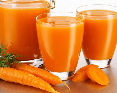 Suco de cenoura para o cabelo crescer mais rápido