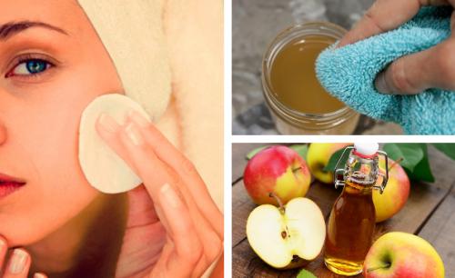 Lave o rosto com vinagre de maçã todas as noites – em 5 dias, isto vai acontecer