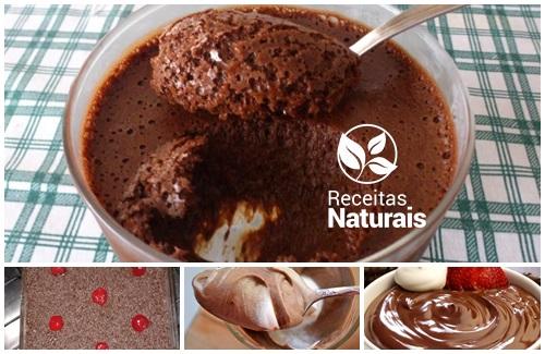 Mousse de Chocolate de Liquidificador