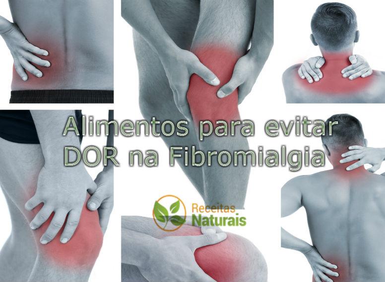 Alimentos que não deve-se comer com dor nos músculos, articulações ou fibromialgia