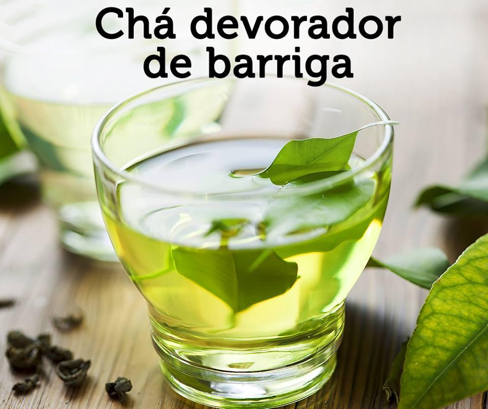 Seca barriga com chá detox