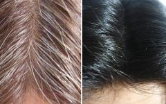 Fim do cabelo branco com 4 receitas Naturais