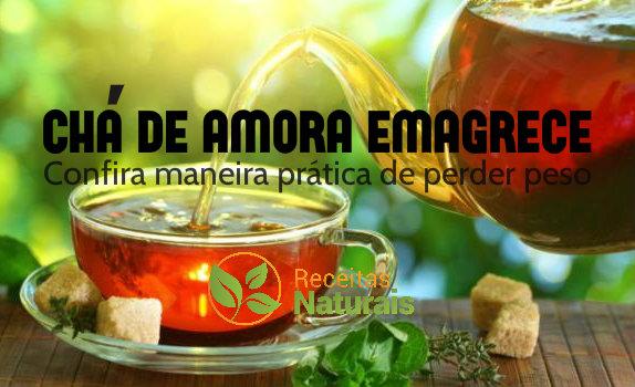 Chá de amora emagrece mesmo confira:
