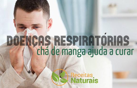 cha de manga curar doença respiratoria