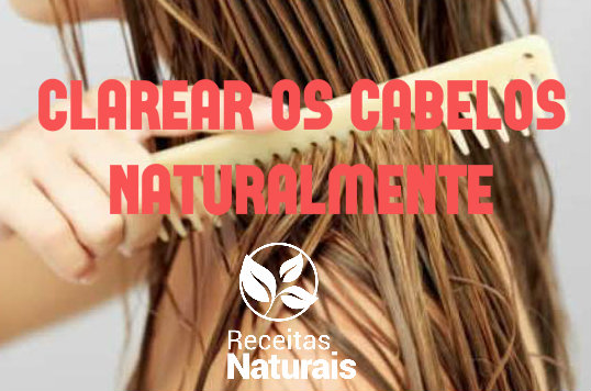 clarear cabelo natural