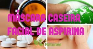 mascara facial de aspirina