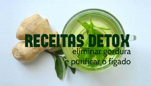 3 Receitas detox para eliminar a gordura e purificar o fígado