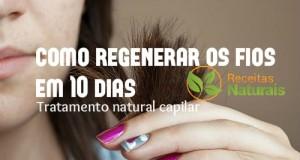 regenerar os fios cabelo