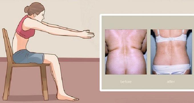 Elimine totalmente a gordura nas costas
