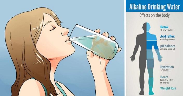 Desintoxique o corpo e melhore a digestão aumente a imunidade com água alcalina , veja como fazer :