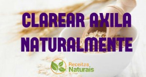 clarear axila natural