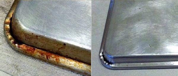 Como limpar crostas de tabuleiros e panelas de alumínio