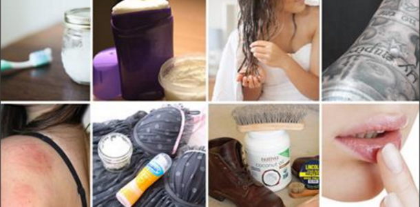 Óleo de coco: 35 Utilidades