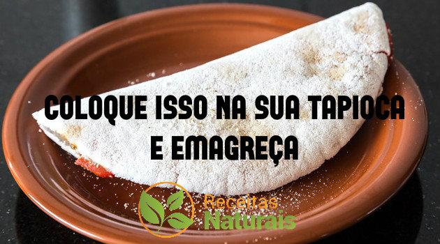 tapioca emagrece