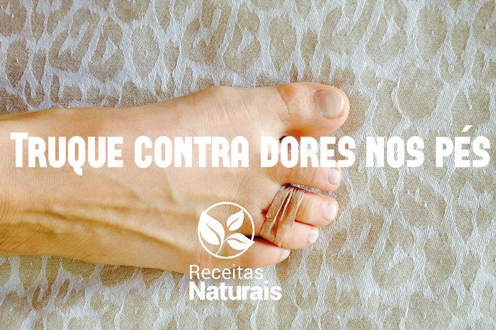 Truque contra dores nos pés , veja que fácil :