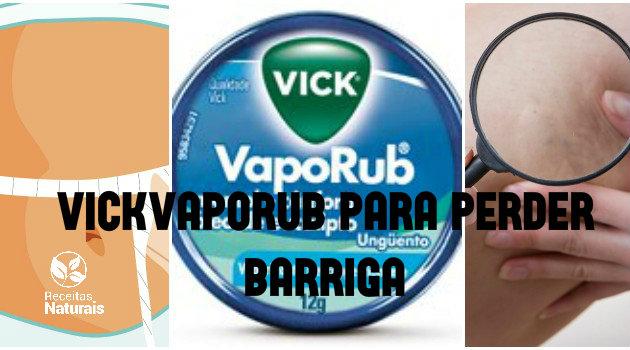 Vick Vaporub para eliminar gordura da barriga, celulite e estria: funciona ou não?