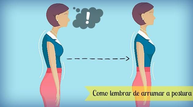 7 dicas para endireitar a postura